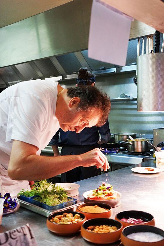Chef du restaurant La Verriere Toulouse aux Carmes